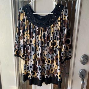 Kaktus | 3/4 Sleeve Dress Shirt